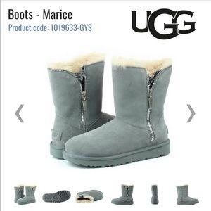 BRAND NEW UGG Grey Marice Boots 1019633